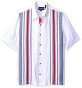 Nat Nast Men's Panel Short Sleeve Shirt
