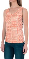Woolrich Center Line Printed Tank Top (For Women)