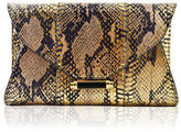 Judith Leiber Couture Baker Mini Elaphe Evening Clutch Bag