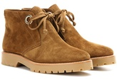 Burberry Verymer Suede Ankle Boots