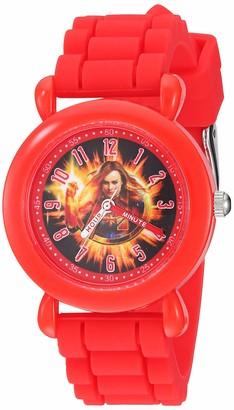Marvel Girls Avengers Analog-Quartz Watch with Silicone Strap