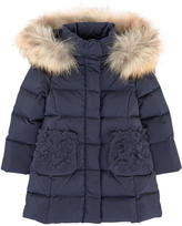 Il Gufo Long down and feather coat
