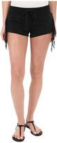 Amuse Society Jessia Shorts with Fringe Detail