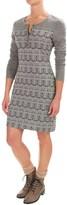Kavu Blake Jacquard Knit Dress - Long Sleeve (For Women)