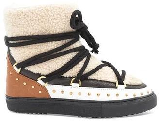INUIKII Curly Rock Sneaker Cream