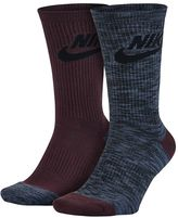 Nike Men's 2-pack Knit-In Crew Socks