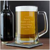 Very Personalised Decorative Glass Tankard