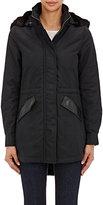 Barneys New York Women's Faux-Fur-Hooded Anorak-BLACK