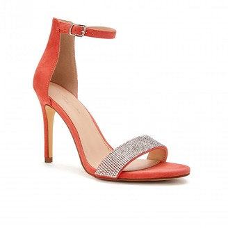 Barely There Paradox London Vista Coral High Heel Ankle Strap Sandals