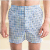 JCPenney Stafford 3-pk. Woven Blended Cotton Yoke-Front Boxers-Big & Tall