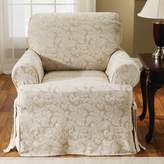 Sure Fit Scroll Classic T-Cushion Armchair Slipcover