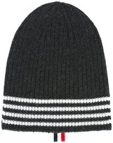 Thom Browne striped hat - men - Cashmere - One Size