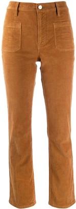Frame Slim Corduroy Trousers