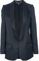 Stella McCartney contrast collar blazer