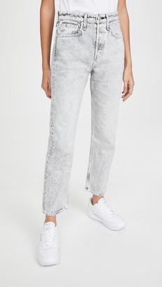 Rag & Bone/JEAN Maya High Rise Ankle Slim Jeans