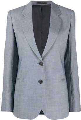 Paul Smith Wool Single-Breasted Blazer