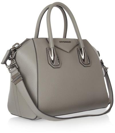 Givenchy Small Antigona bag in gray leather