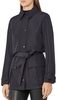 Reiss Dale Short Trench Coat