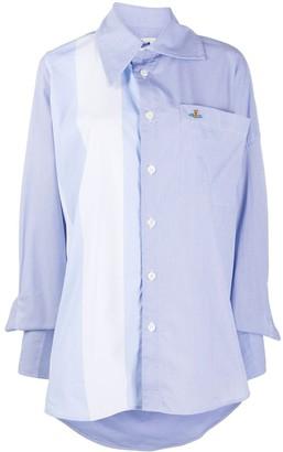 Vivienne Westwood Colour-Block Cotton Shirt