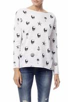 360 Sweater 360Sweater Skull Print Tee