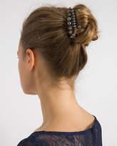 Le Château Metal & Pearl-Like Hair Clips