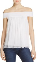 Bailey 44 Tizhit Silk Off-the-Shoulder Top