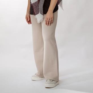Moda In Pelle Jessica Trouser Stone Fabric