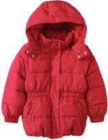 Joe Fresh Toddler Girls' Puffer Jacket, Red (Size 5)