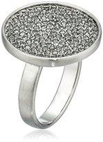 Karen Kane Starry Disc Silver Tone Ring, Size 9