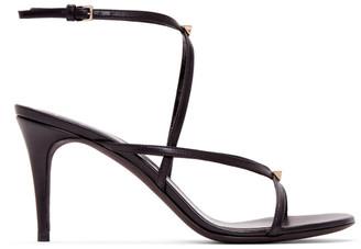 Valentino Black Garavani Strap Sandals