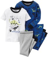 "Carter's Little Boys' Toddler ""Fossil Expert"" 4-Piece Pajamas"