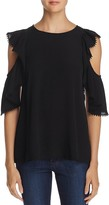 Rebecca Minkoff Monsoon Cold Shoulder Top