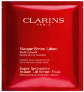 Clarins Super Restorative Instant Lift Serum Mask, 1 Pack