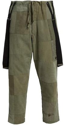 Greg Lauren Tent Scrapwork Lounge Pants