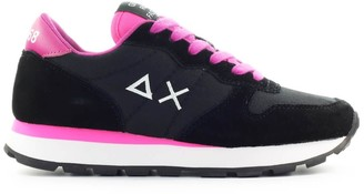 Sun 68 Sun68 Ally Solid Black Sneaker