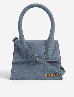 Jacquemus Le Chiquito medium suede top-handle bag