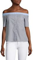 Bailey 44 False Start Off-The-Shoulder Shirt
