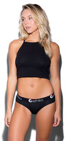 Ethika The Black Solid Cheeky Panties