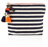 JADEtribe Valerie Stripe Clutch