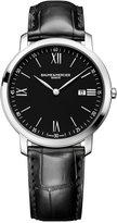 Baume & Mercier Men's Swiss Classima Black Leather Strap Watch 42mm M0A10098