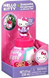 Hello Kitty Collectible Ornament with Cotton Candy Scented Shower Gel Ball