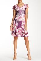 Komarov Lace Sleeve Day Dress