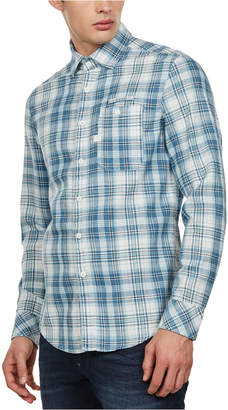 G Star Men Slim-Fit Bristum Check Shirt
