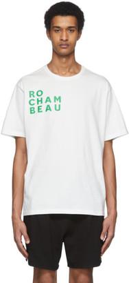 Rochambeau White Core Logo T-Shirt