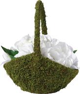 Lillian Rose Moss Flower Girl Basket