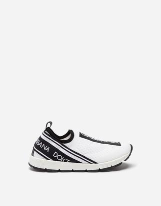 Dolce & Gabbana Sorrento Slip-On Logo Sneakers