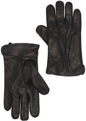 Stewart Of Scotland Plaid Lined Leather Gloves