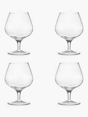 John Lewis & Partners Michelangelo Brandy Glass, Set of 4, 395ml