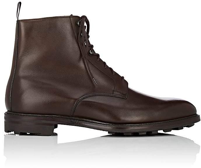 Crockett Jones Crockett & Jones Men's Derwent Leather Lace-Up Boots