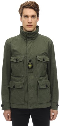 Stone Island Cordura Cotton Blend Field Jacket